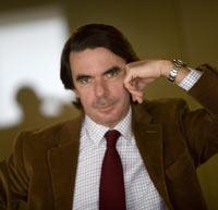 La pose de Aznar